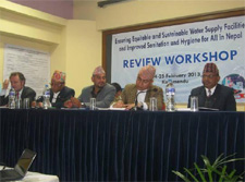 WASH update software launched at Review Workshop
